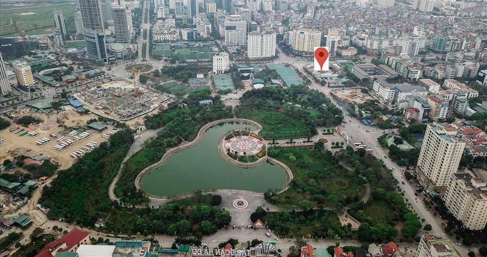 chung cư the park home vị trí đắc địa
